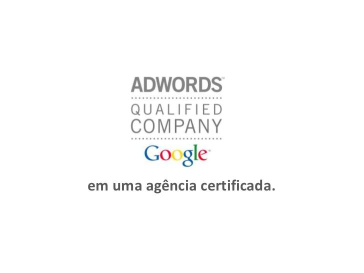 Agência Qualificada Google