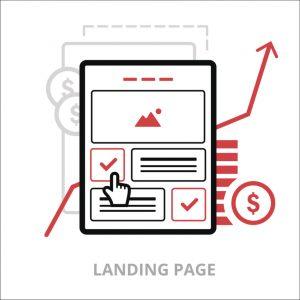 Criação de landing pages